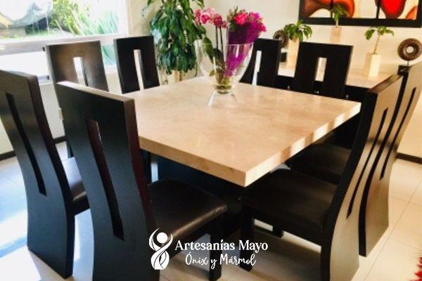 comedor de mármol 8 sillas