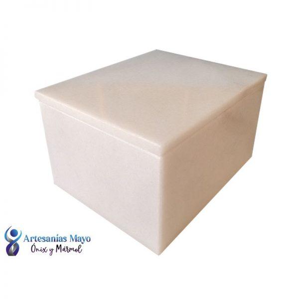 urna para cenizas de bebe en mármol blanco