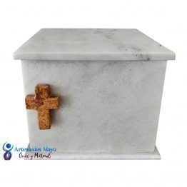 urna para ceniza de mármol blanco guadiana