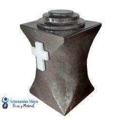 urna de mármol gris santo tomas