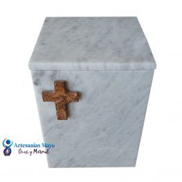 urna funeraria de mármol diseño artm54