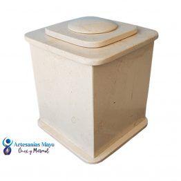 urna funeraria de mármol bellagio diseño artm52