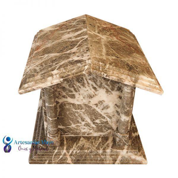 urna mausoleo de marmol gris jaspe