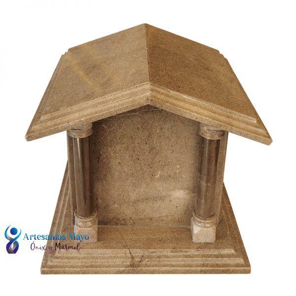 urna mausoleo de mármol gris santo tomas