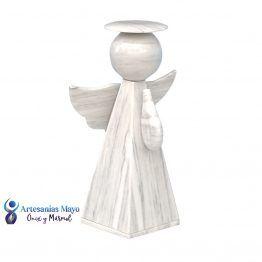 urna para cenizas de niño en forma de angel blanco